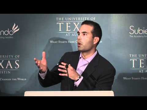 George P. Bush Speaks to Subiendo Students about Leadership