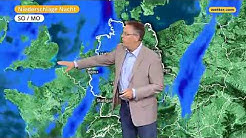 Wetterbericht: Die aktuelle 3-Tages Vorhersage (09.09.2017)