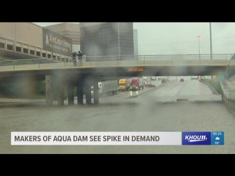 Makers of Aqua Dams in demand