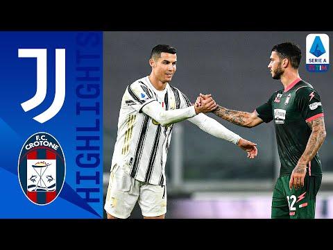 Juventus 3-0 Crotone | La Juve si aggiudica il posticipo | Serie A TIM