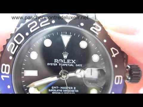 Replique Montres Rolex GMT-Master II Automatique S/S Ceramic Bezel Sapphire RXH0171