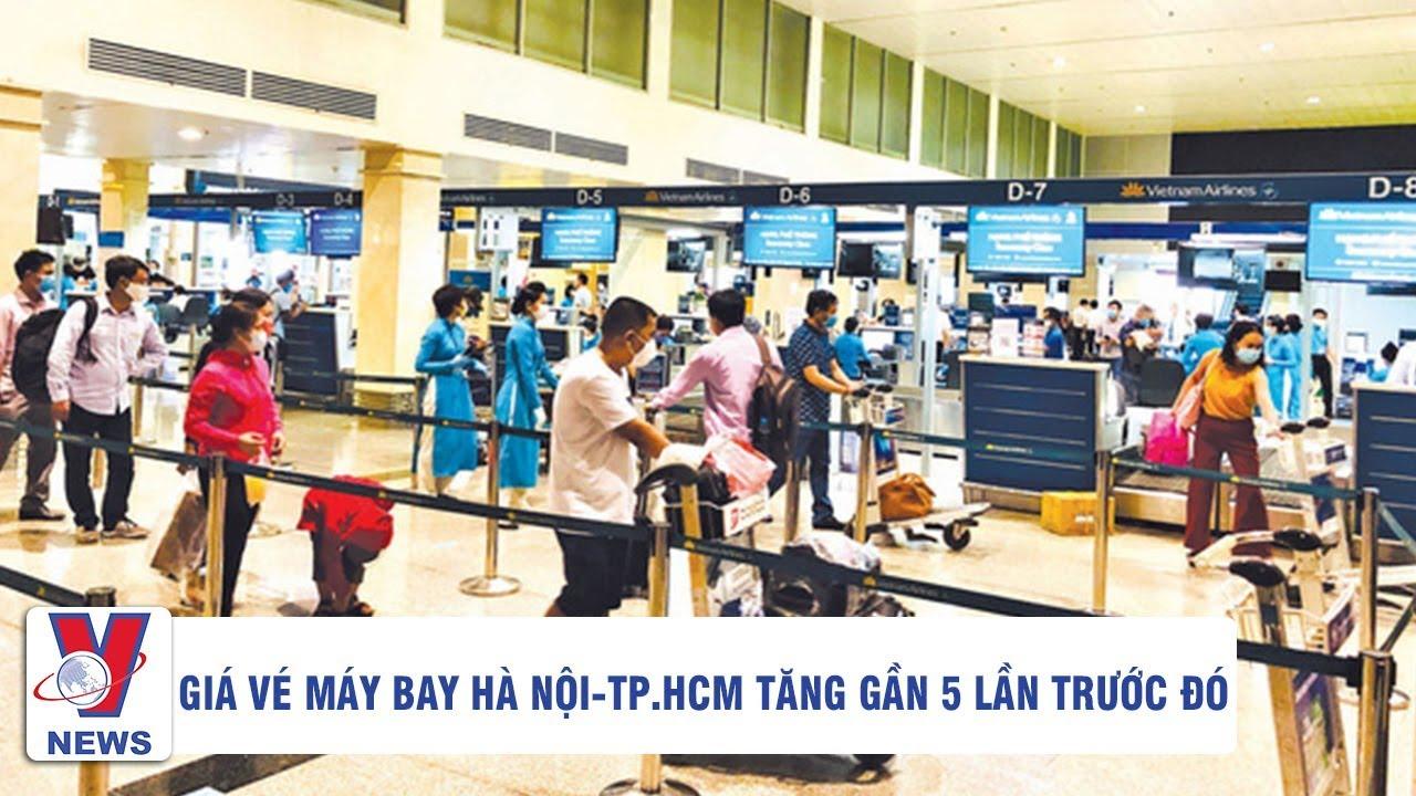 Hết hồn giá vé máy bay Hà Nội - TP. Hồ Chí Minh tăng gấp 5 lần