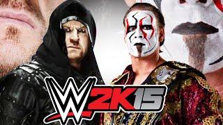 WWE 2K15 - THE UNDERTAKER Vs. STING! (XBOX 360)