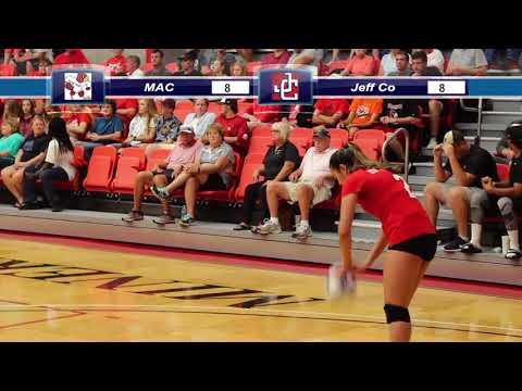 Mineral Area College vs Jefferson College - Volleyball - 9/20/2017