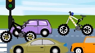 Police Bicycle Vs Batman - Bicycle For Kids | Videos for Children