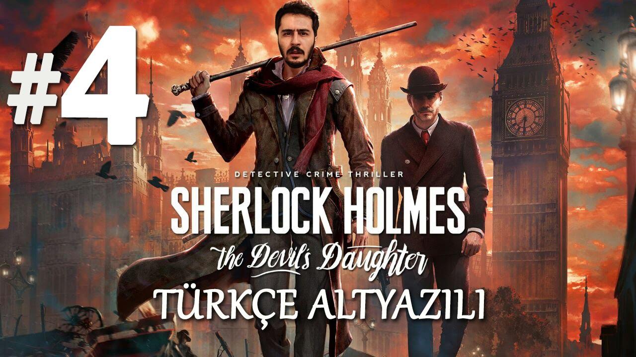 Cinayetin Sirri Sherlock Holmes The Devils Daughter Türkçe