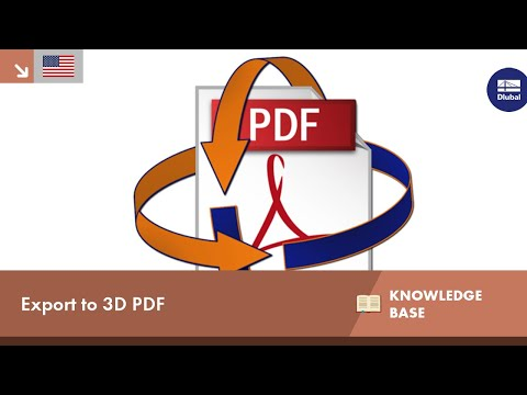 Export To 3D PDF | Dlubal Software