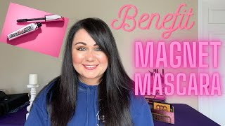 Benefit Magnet Mascara TEST & REVIEW!