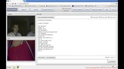 Chat Roulette - Tricking horny guys.