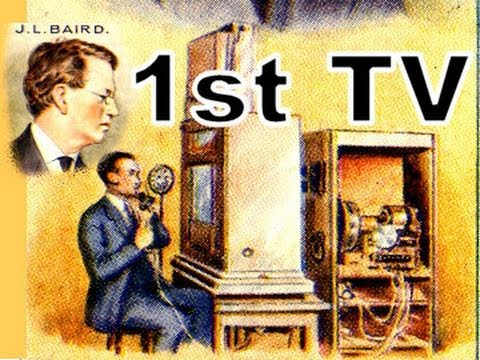 Oldest Television In The World John Logie Baird First TV Broadcast Ever 1920s Cigarette Card