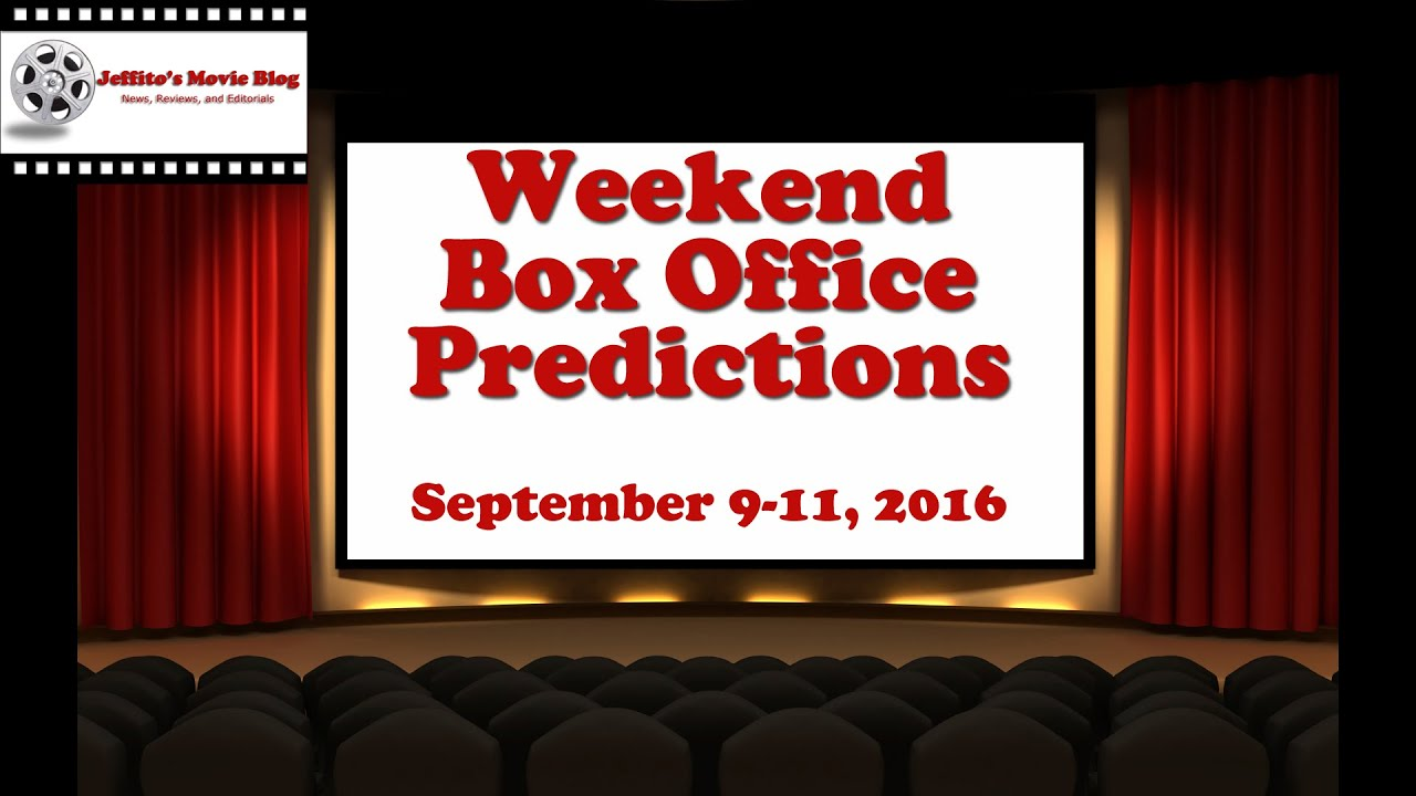 weekend box office report september 9 11 2016 movie autos post. Black Bedroom Furniture Sets. Home Design Ideas