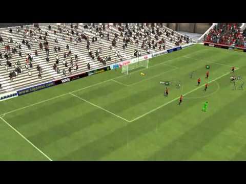 Friburgo vs Barcelona - Gol de Messi 76 minute