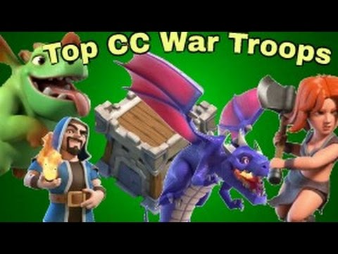 Top & Best CC War Troops for 20 Housing Space 2017: COC