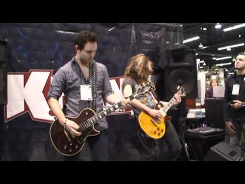 NAMM 2012. Krank Booth Age of Evil