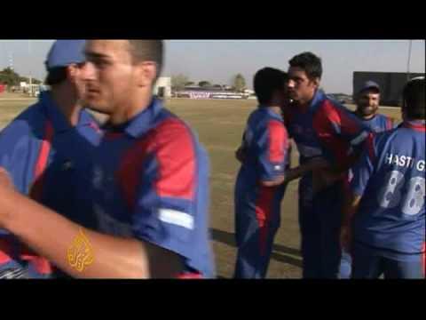 Afghanistan cricket dream ends - AJE Sport - 17 Apr 09