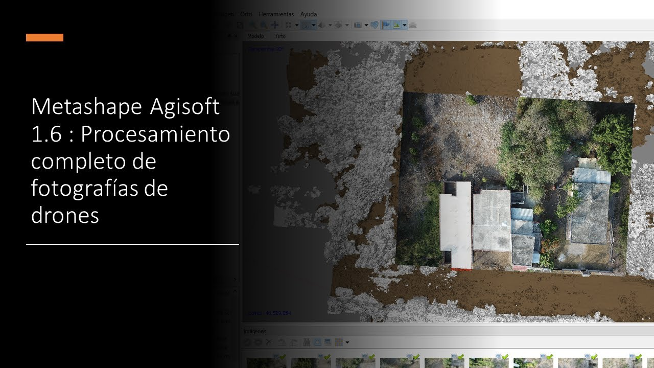 Metashape /Agisoft 1.6 Proceso completo