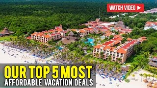 Top 5 Cancun Vacation Deals Of The Week