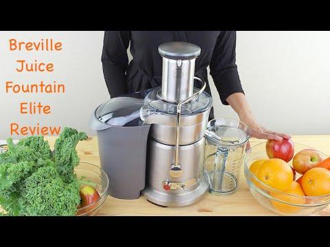 Breville 800JEXL Juice Fountain Elite Review