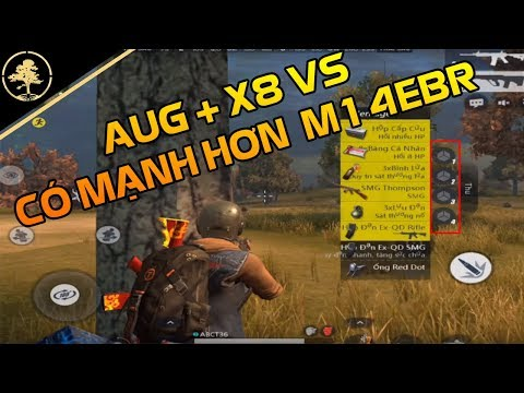 Rule Of Survival VN #32 - Sức mạnh AUG + 8x So Với M14EBR [R