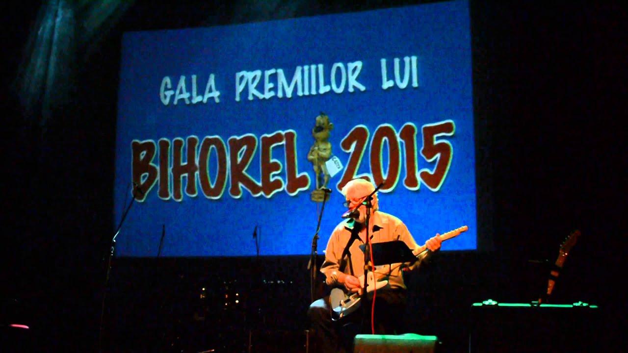 Dan Andrei Aldea - Cantecul bufonului, la Gala Premiilor lui Bihorel 2015