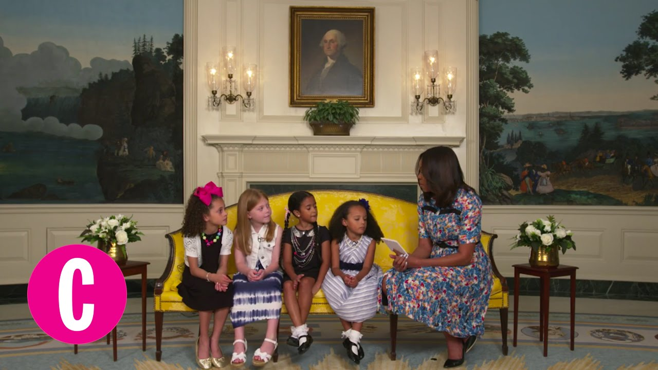 Little Girls Give Advice To First Lady Michelle Obama  Cosmopolitan