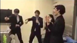 『恋ダンス』 羽生結弦 & 織田信成  キレキレ 逃げ恥 Twitterで話題! 田中刑事 検索動画 13