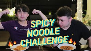 SPICY NOODLE CHALLENGE (GONE WRONG!) | Jimuel Pacquiao