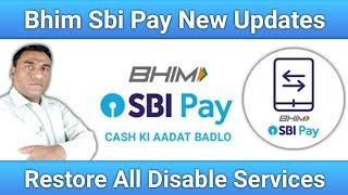BHIM SBI Pay New Update | Bhim Sbi Pay Services Restored