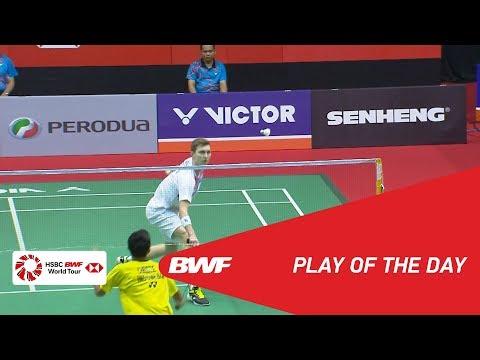 Play Of The Day   Badminton Quarterfinals - Perodua Malaysia Masters 2018   BWF 2018