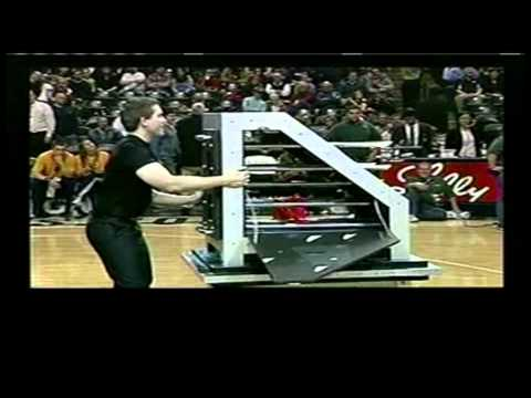 The Magic of JP Wilson - Indiana Pacers Halftime Show 01-26-11