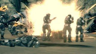 Resistance - War Sketch (Halo Reach  War Machinima)