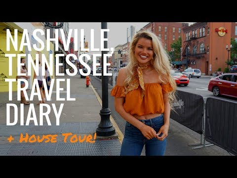 Nashville, Tennessee Travel diary + House Tour!! | @LilyLeeTracy