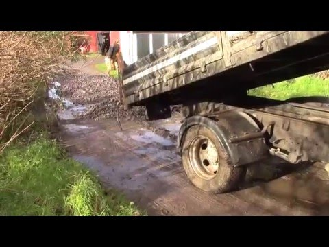 How To Spread 10 Tons Of Gravel Without Machines