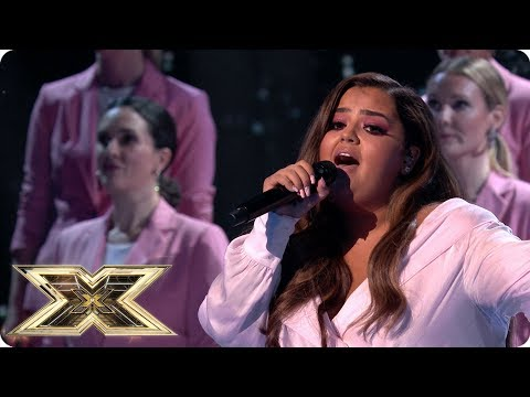 Scarlett Lee's a Natural Woman | Live Shows Week 1 | The X Factor UK 2018