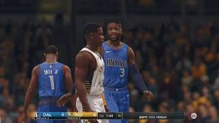 NBA Live 18: Pacers vs Mavericks