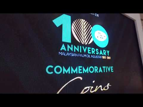 Launch of 100th Anniversary of Malaysian Palm Oil Industry Commemorative Coins
