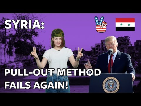 #ICYMI: Trump's Syria pull-out method is going to be slow, messy and angry (VIDEO)