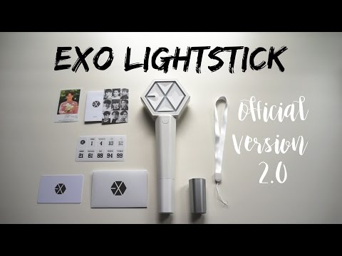 [Unboxing] EXO Official Lightstick Ver 2.0