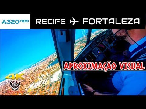 Airbus A320Neo - Voo Recife - Fortaleza