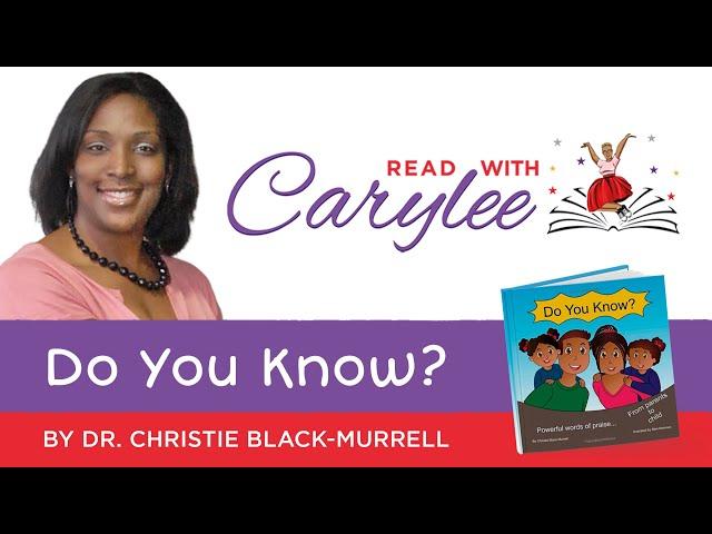 Dr. Christie Black Murrell - Do You Know?