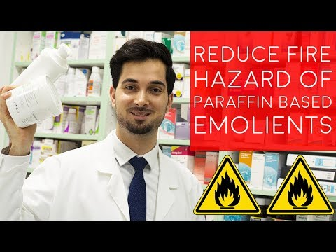 Fire Hazard With Paraffin Based Skin Products  Flammable Skin Creams  How To Reduce Fire Risk