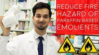 fire Hazard With Paraffin Based Skin Products | Flammable Skin Creams | How To Reduce Fire Risk