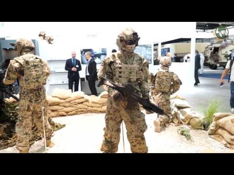IDEX 2017 Rheinmetall latest technologies defense security products equipment armoured vehicles