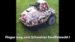 Finger weg vom Schweizer Waffenrecht!