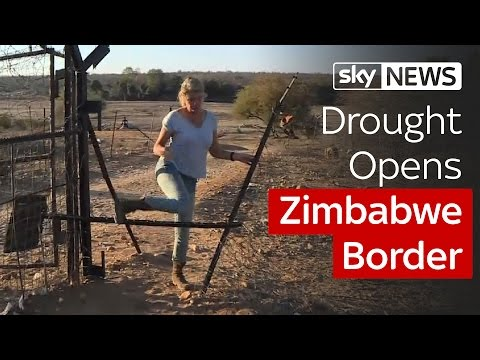 Drought Opens Zimbabwe Border To Smugglers