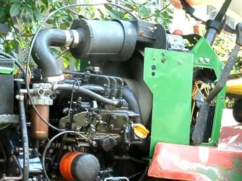 JOHN DEERE GARDEN TRACTOR YANMAR 3TN66 DIESEL ENGINE GATOR