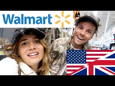 🇬🇧 BRITS EXPLORE WALMART! | First Time in Walmart! 🇺🇸