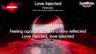 """Aminata - """"Love Injected"""" (Latvia)"""
