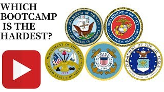 WHICH BOOTCAMP IS THE HARDEST? ARMY, COASTGUARD, NAVY, AIRFORCE, MARINES VLOG 027