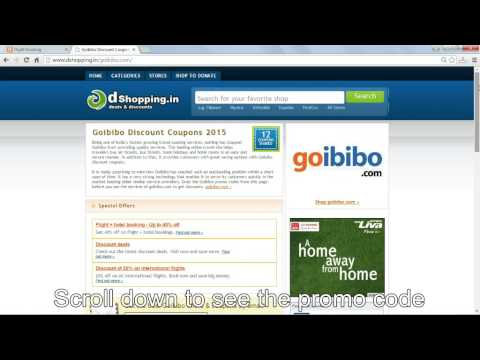 How To Use Promo Code In Goibibo